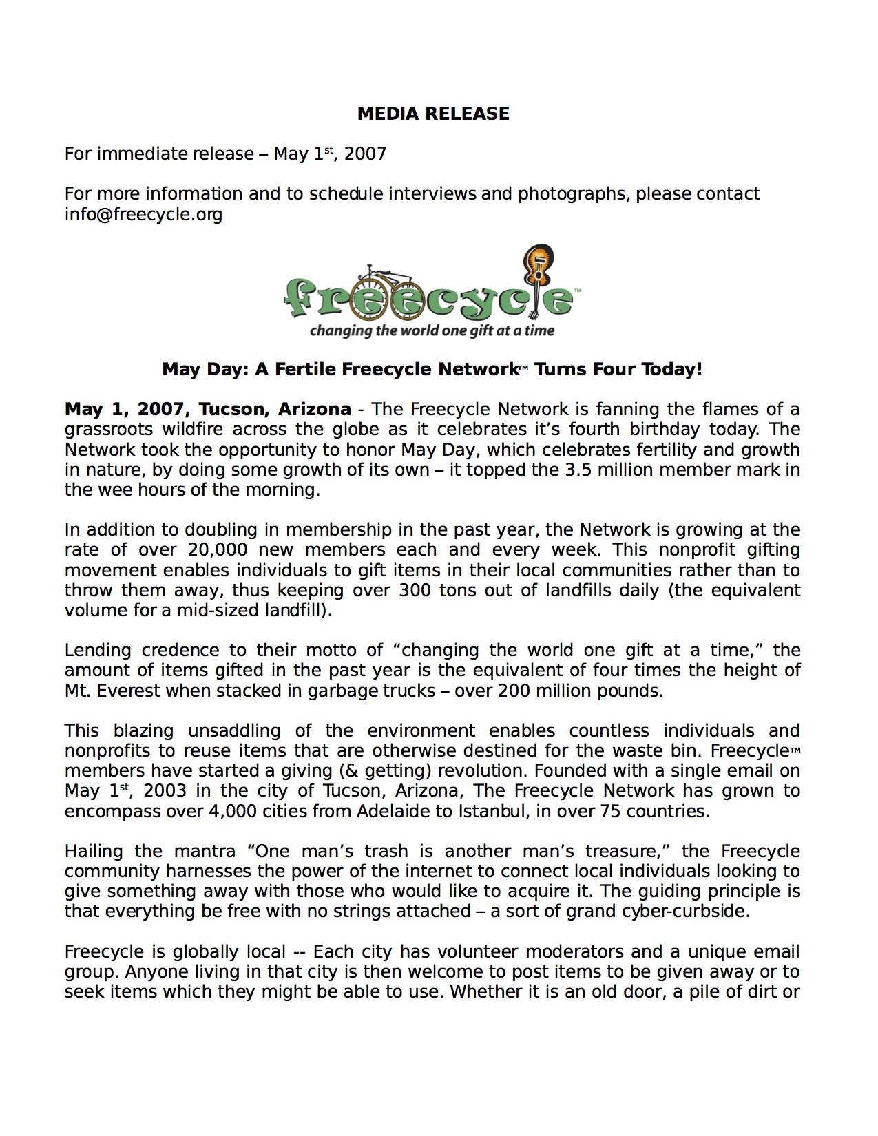 07-05-01 The Freecyle Network media release.jpg